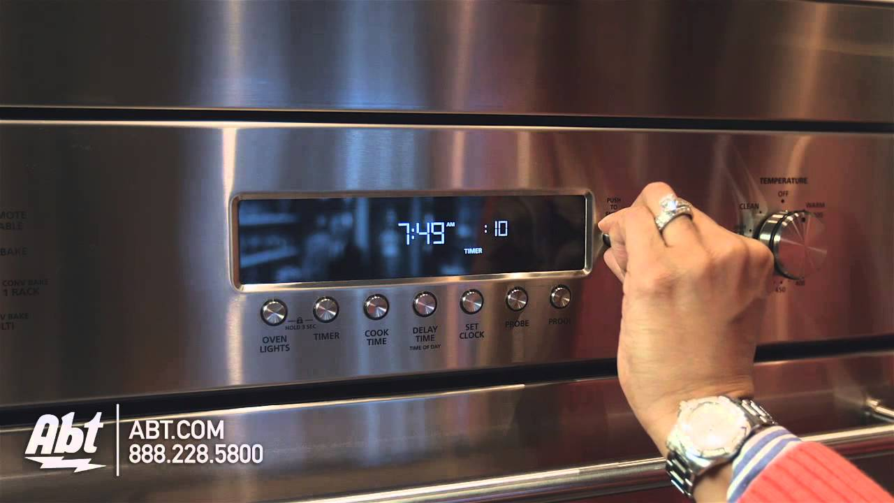 Ge Monogram 30 Stainless Steel Built In Convection Single Wall Oven Zet1shss Overview