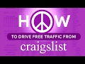 GENERATE TRAFFIC WITH CRAIGSLIST: Posting Online Classifieds in 5 Easy Steps