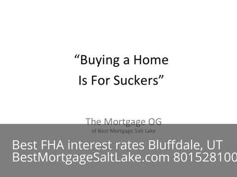 FHA Purchase Rates Bluffdale, UT