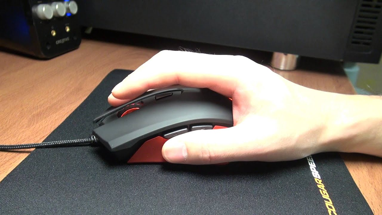 Cooler Master Sentinel III: Review - An Ergonomic Palm Grip FPS .