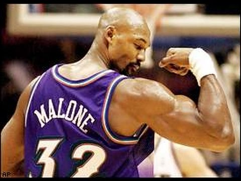 Karl Malone NBA Superstars
