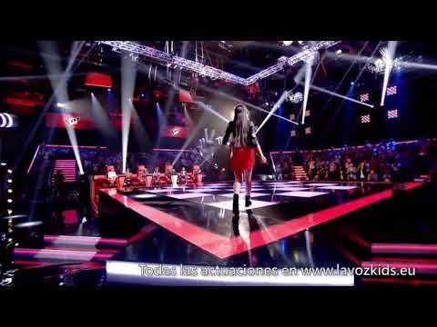 "Flori: ""Stone Cold"" - Último Asalto - La Voz Kids España 2018"
