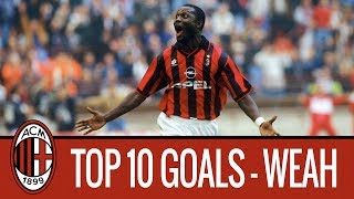 George Weah's top 10 goals for AC Milan