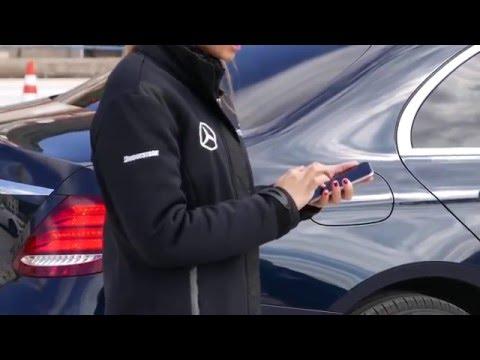 2017 Mercedes-Benz New E-class Remote Parking Pilot Demonstration