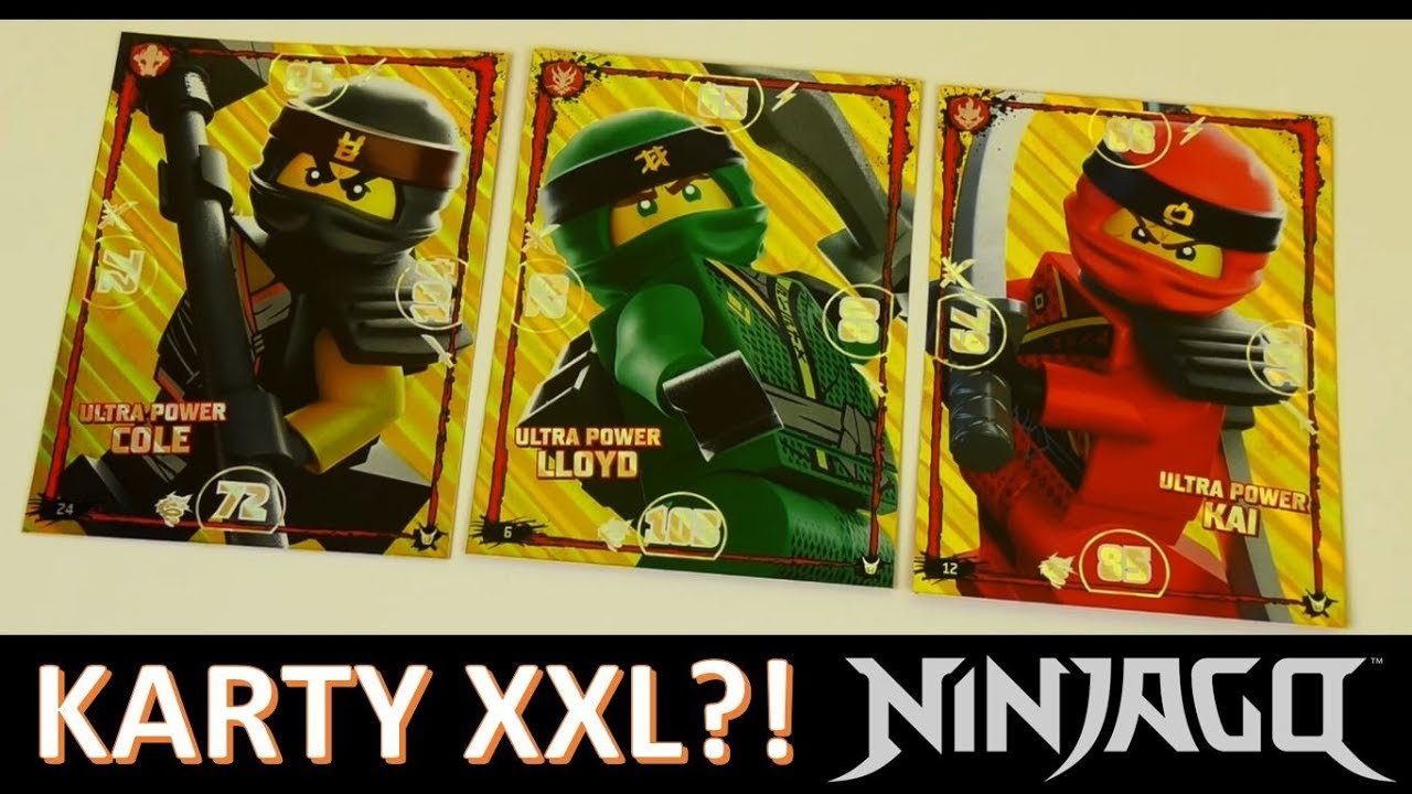 Poważne Karty LEGO Ninjago TCG3 XXL - PO CO TO? / VLOG - YouTube IV23