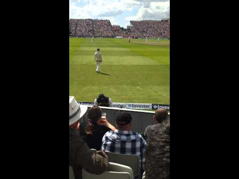 David Warner taunted by England fans
