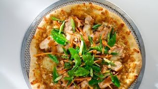 90 Second Thai Chicken Pizza