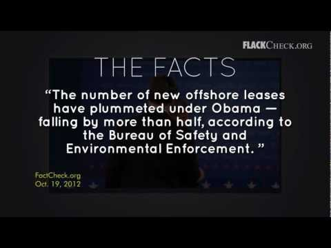 Obama on New Permits and Leases for Offshore Oil and Gas Drilling