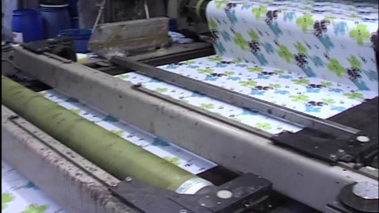 Textiles Dyeing and Printing (Preview) - YouTube