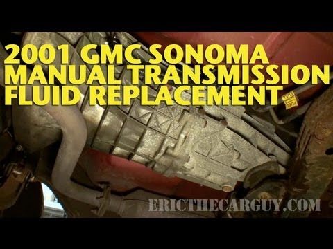 2001 gmc sonoma manual transmission fluid replacement ericthecarguy rh youtube com 98 s10 manual transmission fluid 1999 S10 Automatic Transmission Diagrams