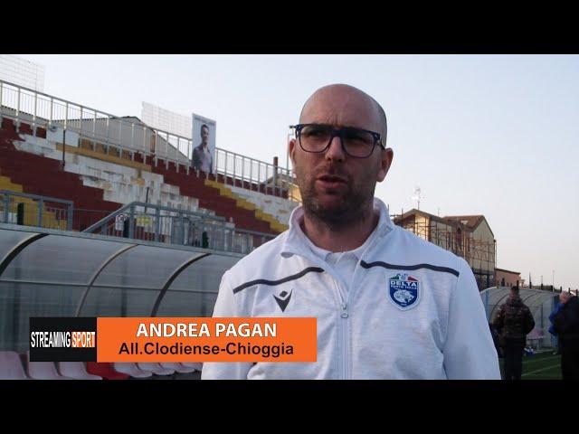 Clodiense - Delta Porto Tolle 0 - 0 Un soddisfatto Mister Pagan per il pareggio