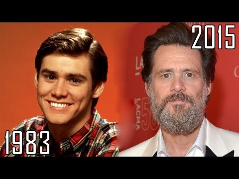 Jim Carrey 19832015 all movies list from 1983! How much has changed? Before and Now!