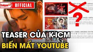 MV Cần Một Lý Do 'BIẾN MẤT' khỏi Youtube hé lộ lý do dễ hiểu từ K-ICM