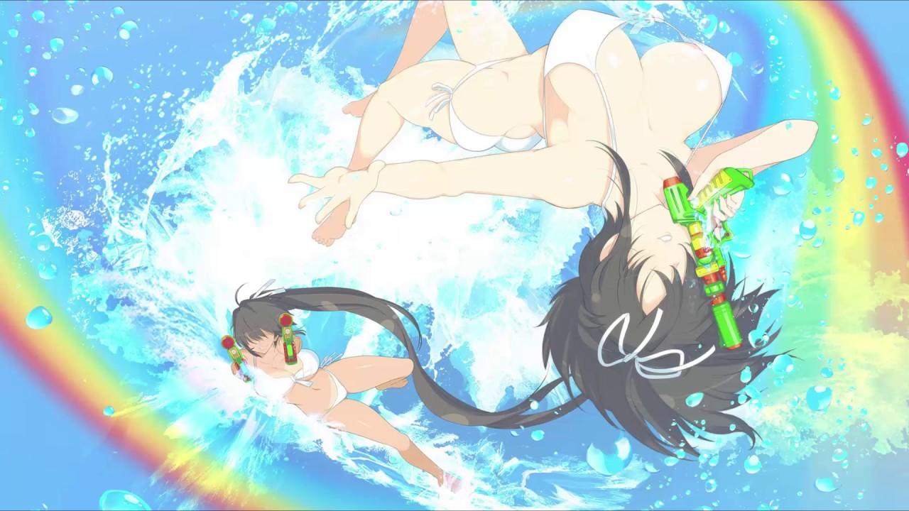 Senran Kagura Peach Beach Splash -  国立半蔵学院勝利!