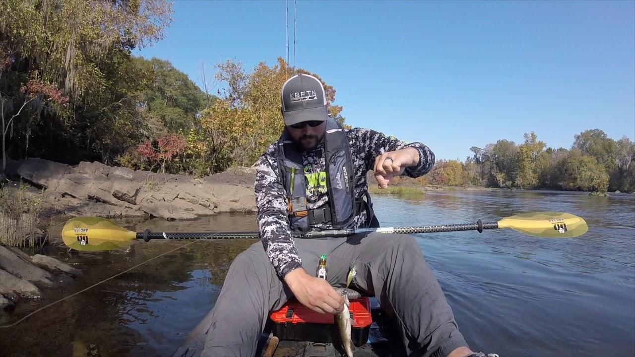 Coosa River Kayak Fishing 2017