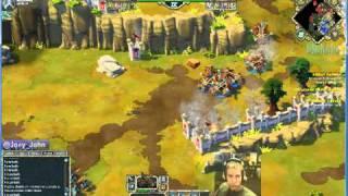Age Of Empires Online Walkthrough - Pt.198 Greek - Defeat Paphos (ii)
