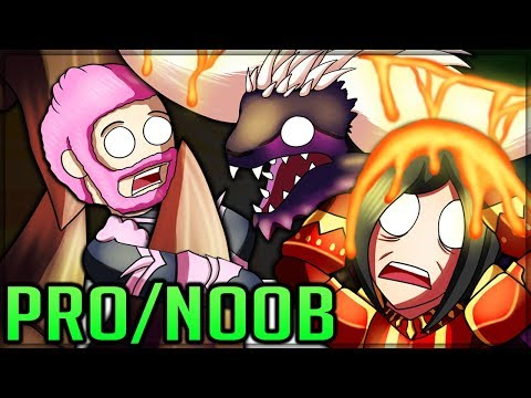 ARCH ZORAH MENTAL BREAKDOWN - Pro and Noob VS Monster Hunter World Multiplayer! (Best Episode) #mhw