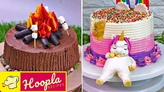 Birthday Cake Decorating Ideas | Easy Recipes by Hoopla Recipes