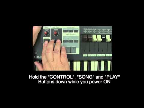 HOW TO UPDATE THE SYSTEM SOFTWARE ON YOUR HAMMOND Sk