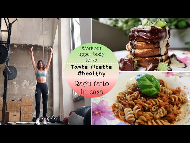 DAY IN THE LIFE: Cosa Mangio, Workout, idee ricette. - vlog #96