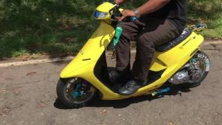 Honda dio 1 2 3 Super Live SR Dio's from P.I. to Hawaii USA