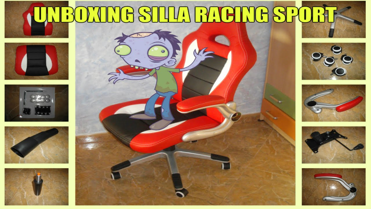 Unboxing silla racing sport youtube - Silla racing sports ...