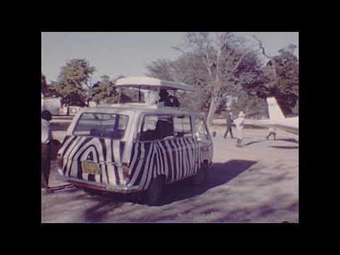 1986 Hwange National Park, African Animals - Reel #51