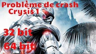 TUTO - Crysis 1 crash au démarrage [Black screen fix]