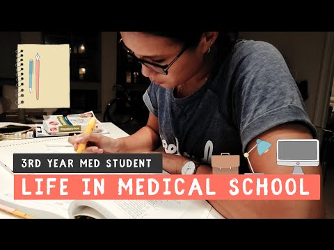LIFE IN MEDICAL SCHOOL | 3rd Year of Medical School VLOG
