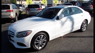 *SOLD* 2015 Mercedes-Benz C300 Sport 4Matic Walkaround, Start up, Tour and Overview