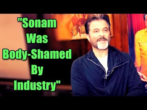 Sonam Kapoor Was Body-Shamed And She Used To Be EMOTIONAL: Anil Kapoor | ABP News