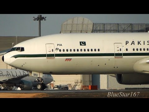 [Retro Livery] Pakistan International Airlines Boeing 777-200ER (AP-BMG) takeoff from NRT/RJAA 34L