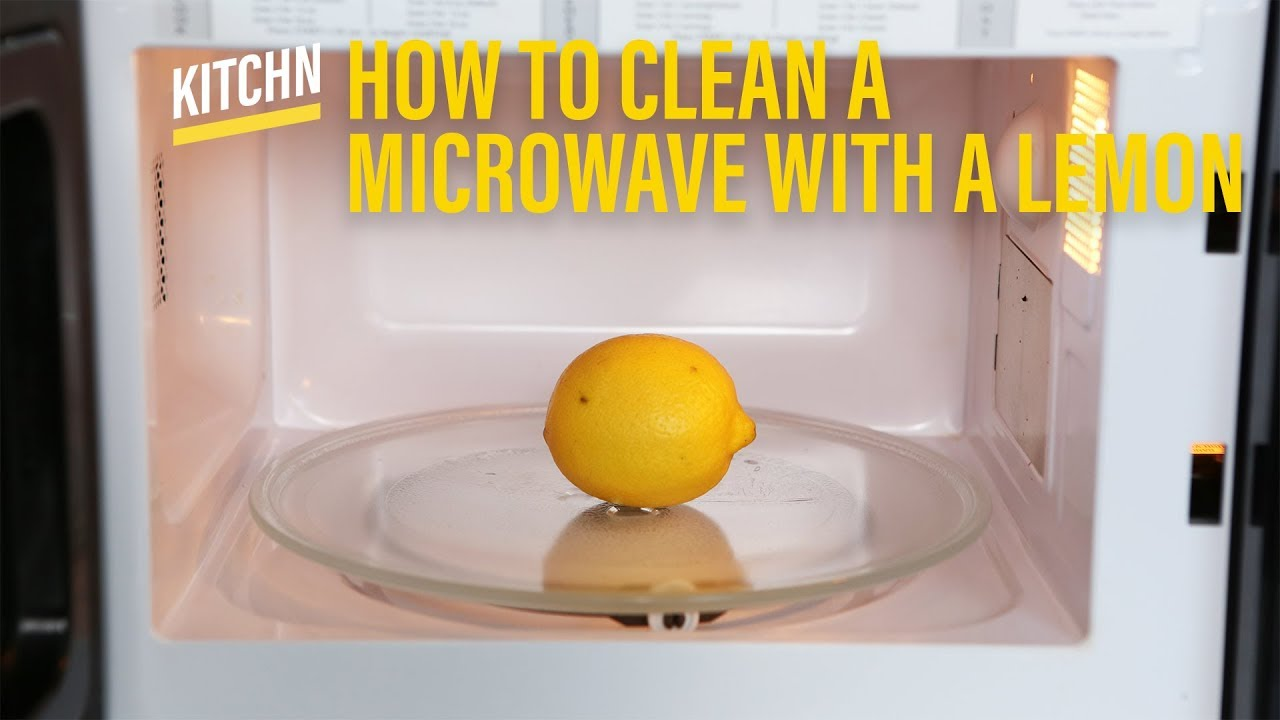 Clean A Microwave With Lemon Kitchn