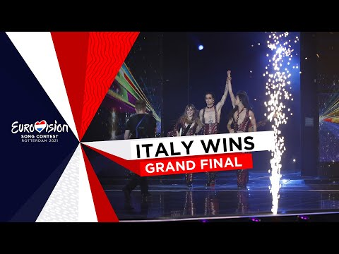 Måneskin from Italy wins the Eurovision Song Contest 2021!