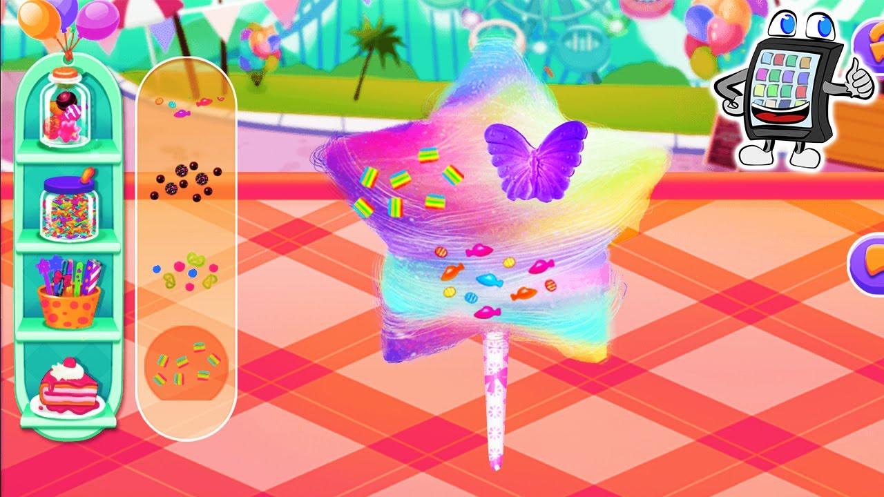 zuckerwatte maschine app deutsch coole regenbogen zuckerwatte selber machen cotton candy. Black Bedroom Furniture Sets. Home Design Ideas