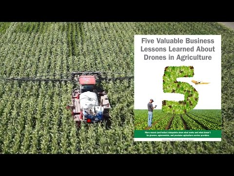 5 Valuable Lessons Learned About Drones in Precision Agriculture