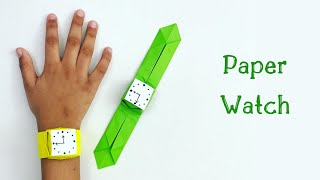 How To Make Easy Paper Watch For Kids / Nursery Craft Ideas / Paper Craft Easy / KIDS crafts
