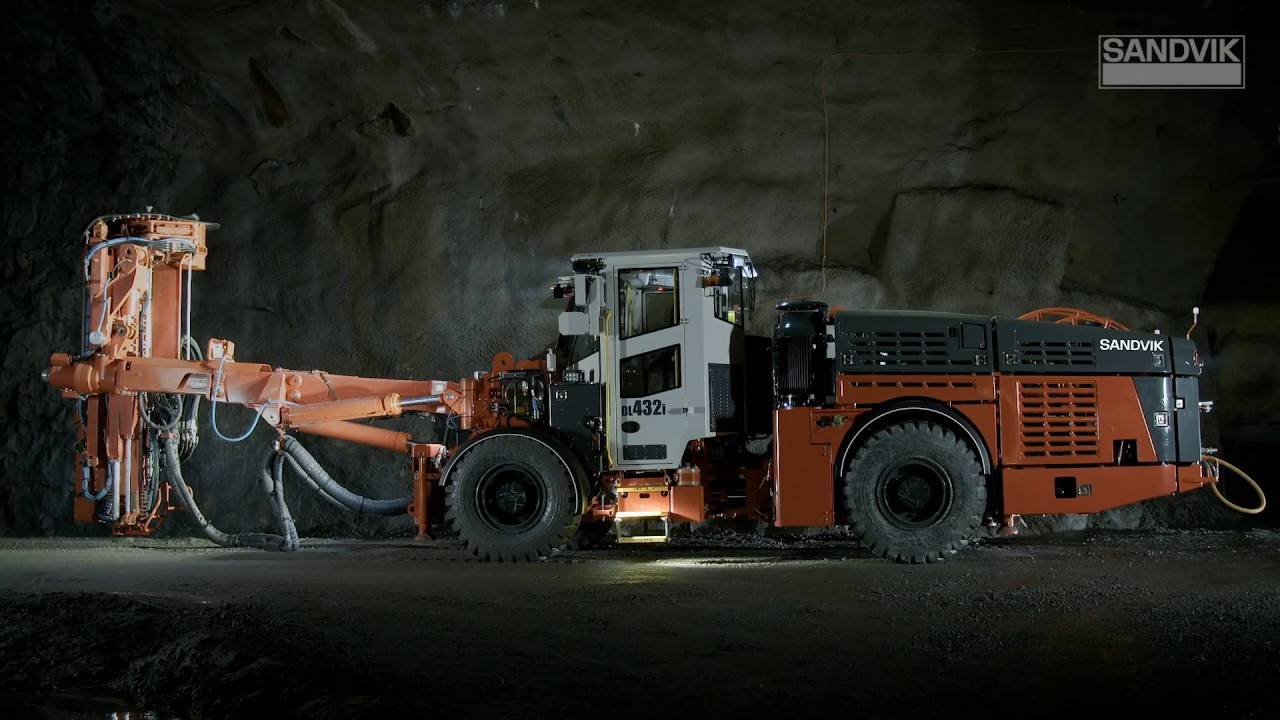 Sandvik DL432i | Sandvik Mining and Rock Technology