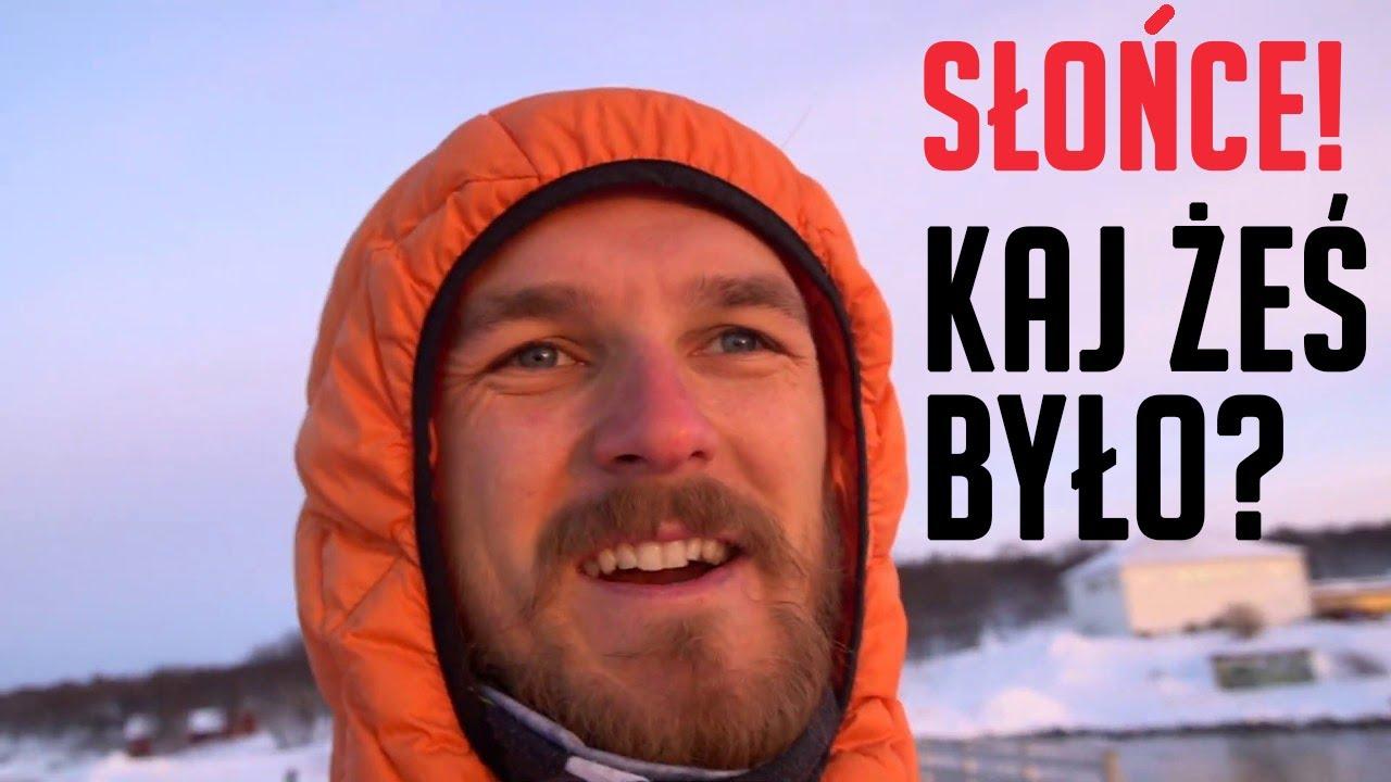 Bojownik z Arktyki o nocy polarnej
