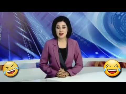 Kazakhstan news reporter 🤣funny