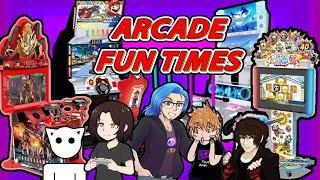 ARCADE FUN w/ Shadow Fenrir, HBVampGirl & Pokeshadow - Shad0