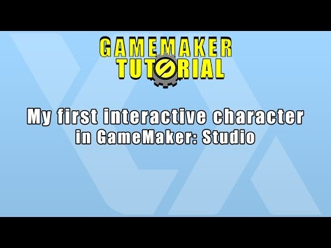 My first interactive character in GameMaker: Studio w/ Simon