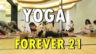 YOGA  with FOREVER21 (Jan. 18-19, 2018) - saytioco