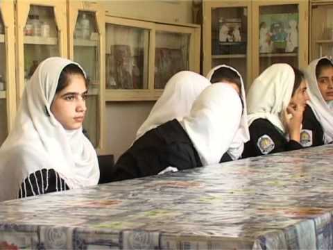 ًReport from maryam high school, Kabul,Afghanistan .wmv