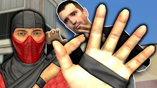 Training to Become a Ninja! - Garry's Mod Gameplay