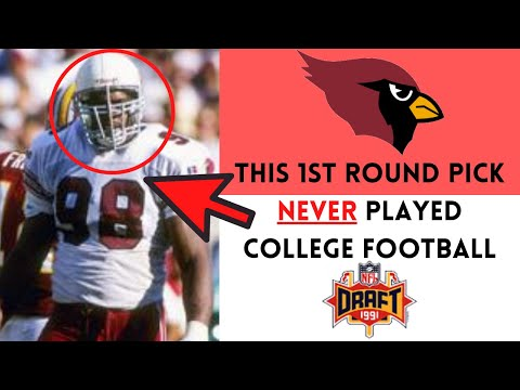 [OC] [Highlight] At the 1991 NFL Draft, the Cardinals chose DT Eric Swann with their 1st round pick (#6 overall), despite the fact that Swann never played college football. This is the story behind why Swann never played in the NCAA, Swann's unlikely journey to the NFL, and how his career turned out
