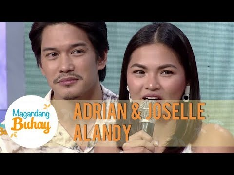 Adrian & Joselle's short but sweet promise to each other| Magandang Buhay