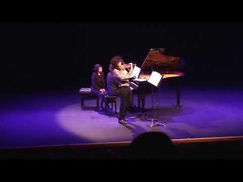 """World Premiere !! Szymon Laks: """"Poem"""" (Arr. P. Mousavi)"""