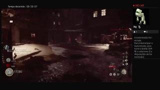 Call of duty ww2 zombis ao vivo