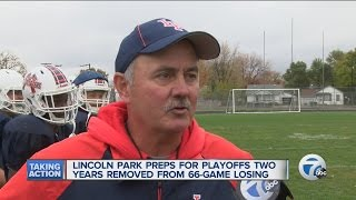 Lincoln Park football turnaround from losers to winners
